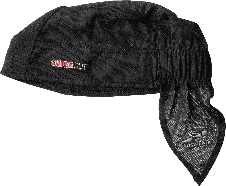 White with Gears One Size Headsweats Super Duty Shorty Headband