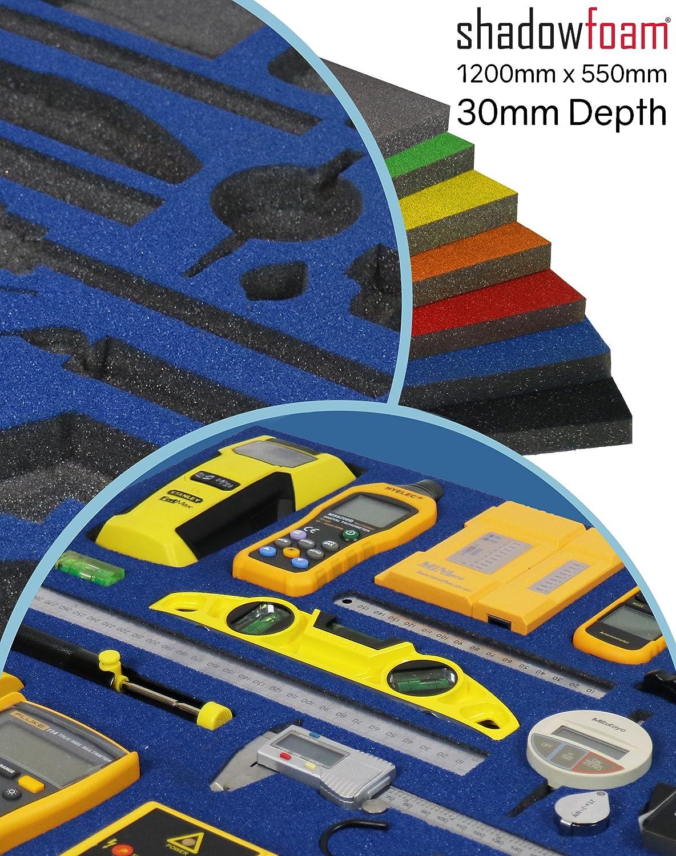 Werkzeugkoffer /Britool und Draper blau /Organiser./ blau Auto-Organizer Blaue Schatten-Instrument/