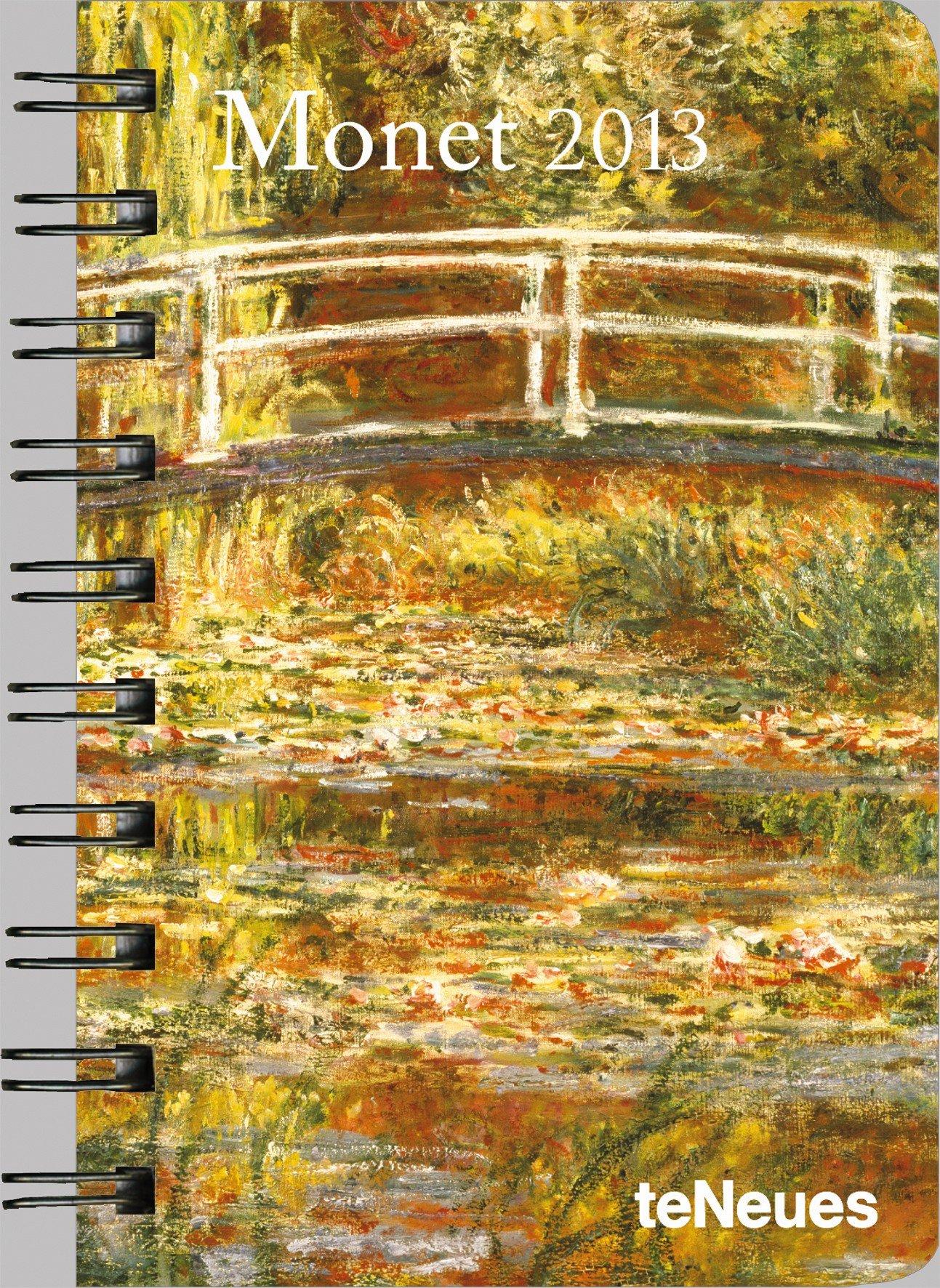 Monet 2013. Taschenkalender Deluxe