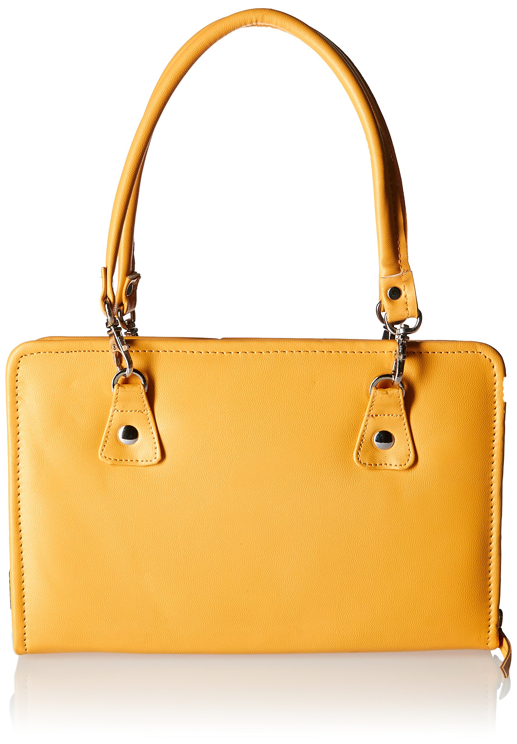 Knitter's Pride KP800233 Thames Faux Leather Bag, Yellow