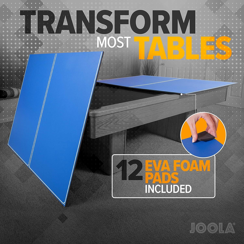 JOOLA Tetra - 4 Piece Ping Pong Table Top