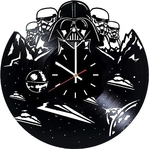 choma Dath Vader Stormtrooper Vinyl Record Wall Clock