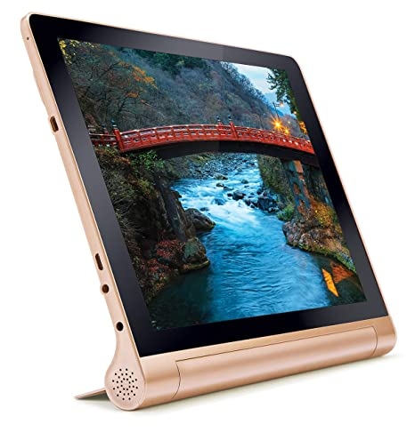 iBall Slide Brace-XJ Tablet (10.1 inch, 32GB, Wi-Fi + 4G LTE + Voice Calling), Bronze Gold Tablets at amazon