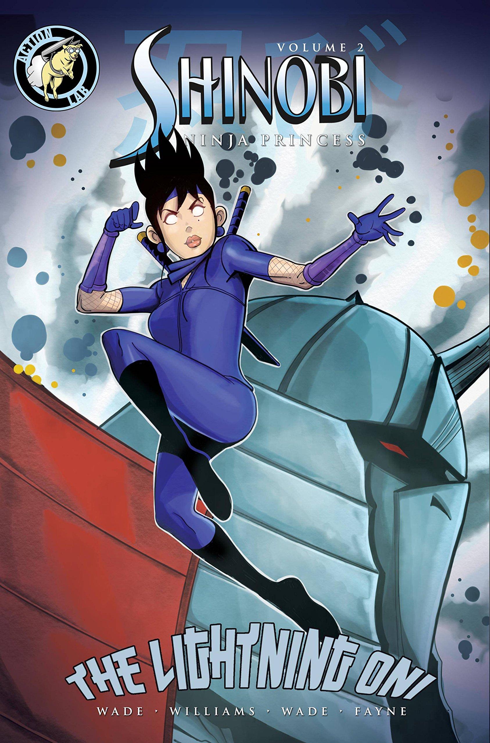 Shinobi: Ninja Princess V2: Lightning Oni: Martheus Wade ...