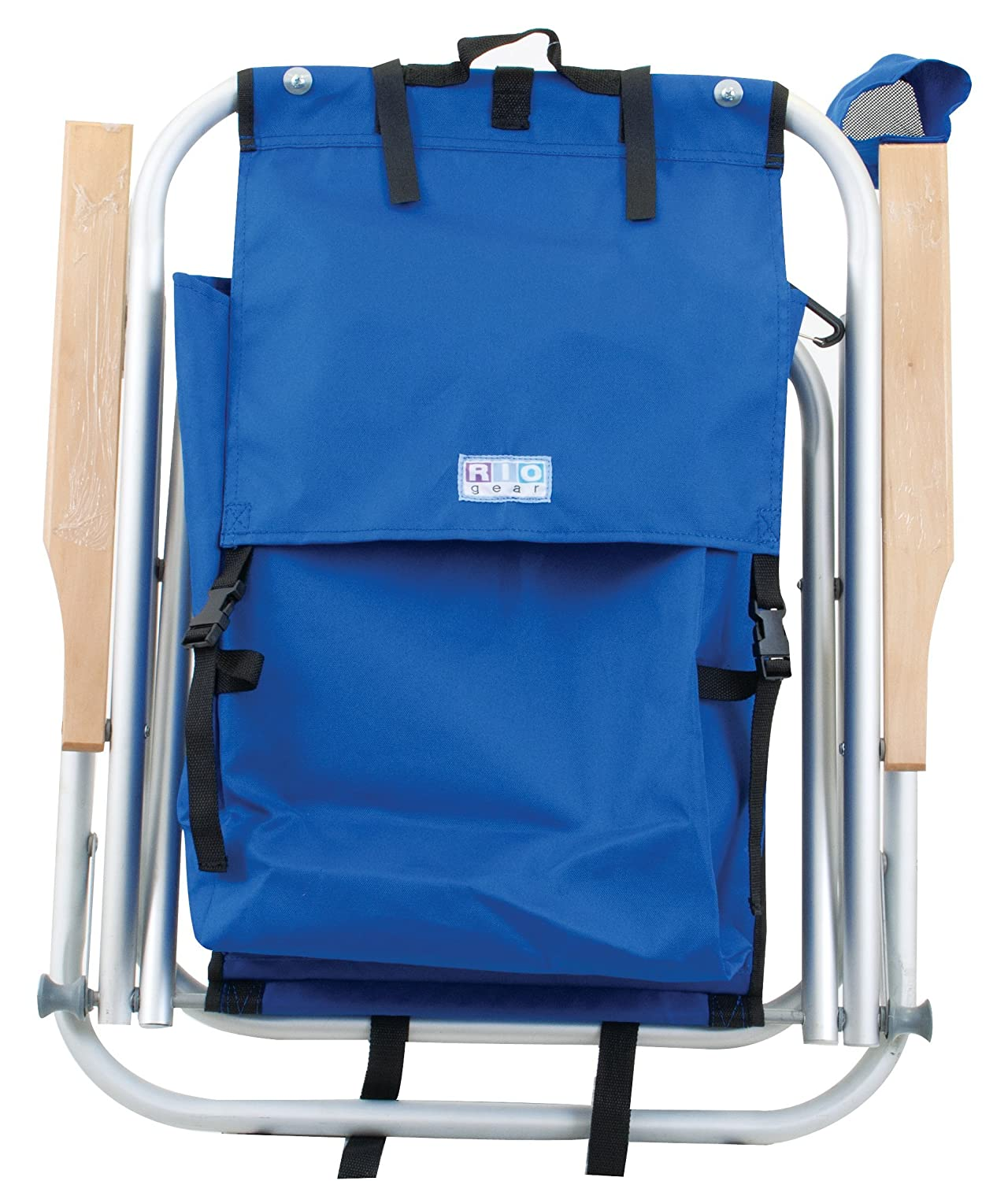 Wearever backpack chair - Amazon Com Rio Brands Aluminum Frame Backpack Chair Sc540 Camping Chairs Sports Outdoors