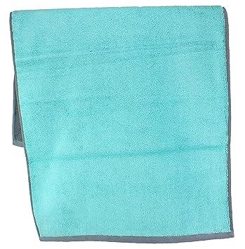 Vossen Bath Towels, 100% Cotton, Urbanlife Capriblue, 2 Handtücher 50 X 100