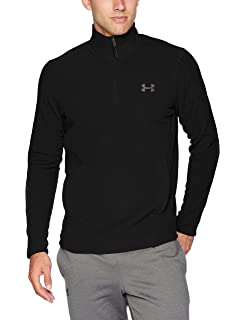 best authentic 5d2a8 8d0dd Under Armour Men s Zephyr Fleece Solid 1 4 Zip Sweat Shirt