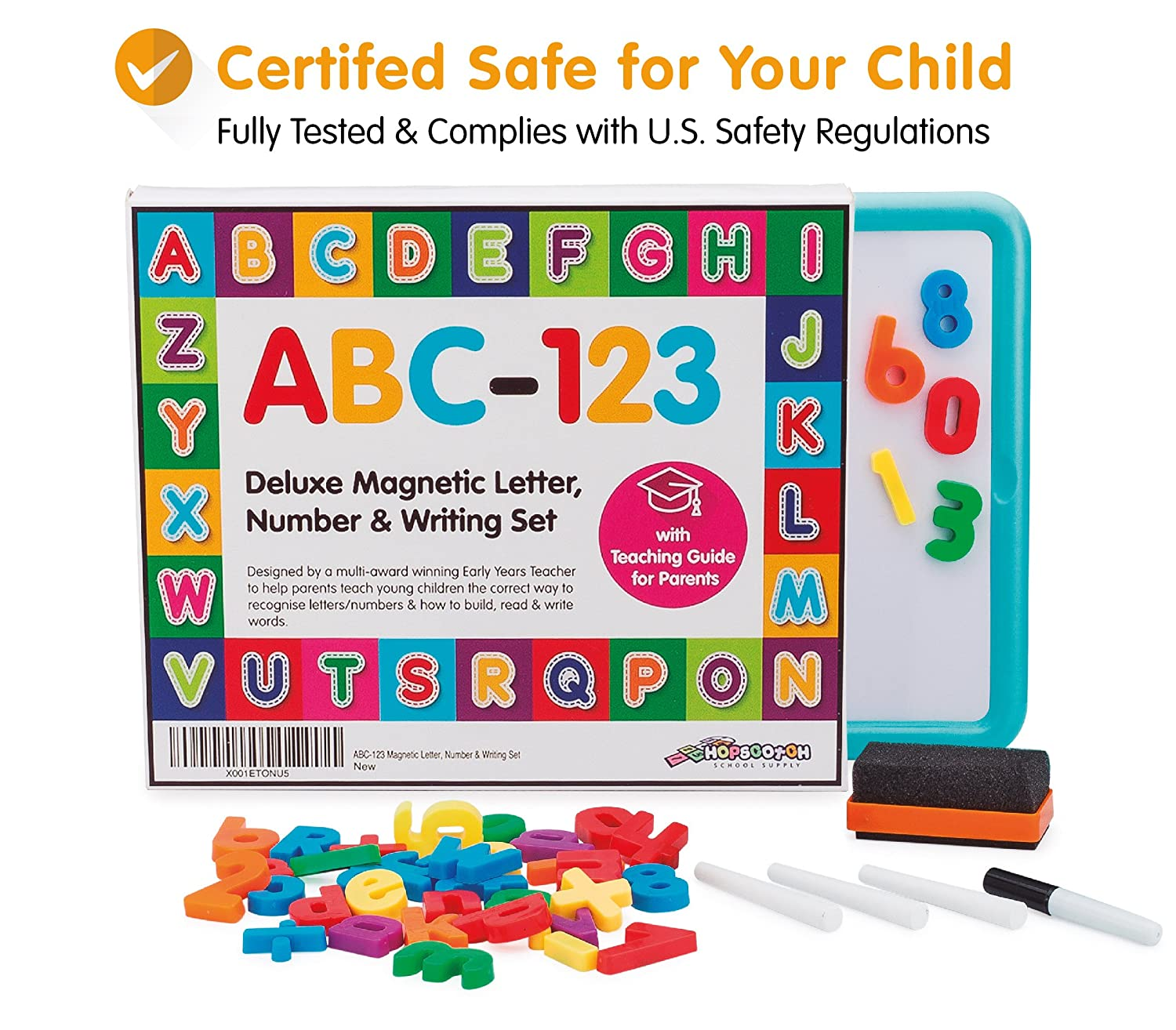 Amazon EXTRA LARGE Children s Magnetic Letters Numbers
