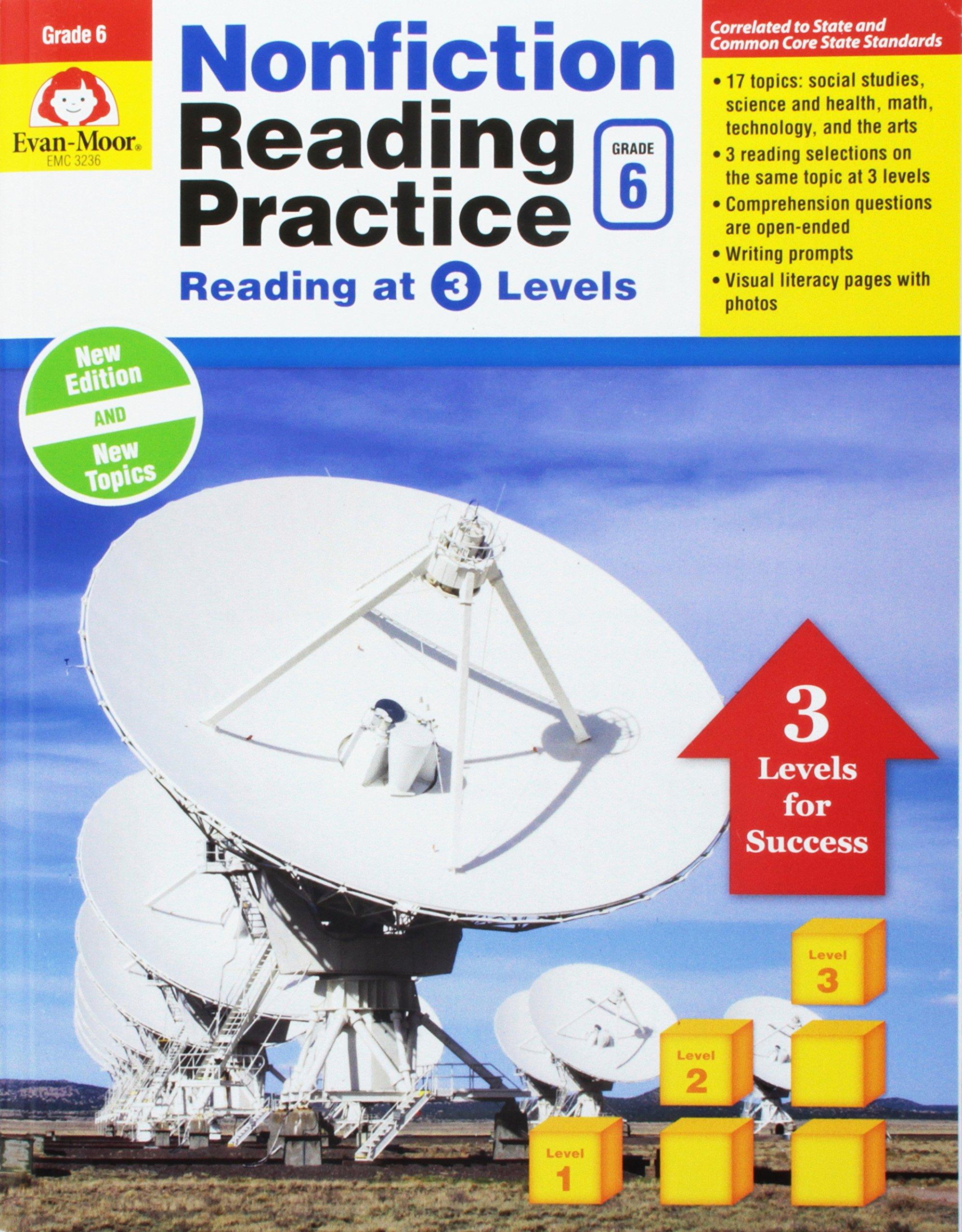 Download Nonfiction Reading Practice, Grade 6 pdf epub