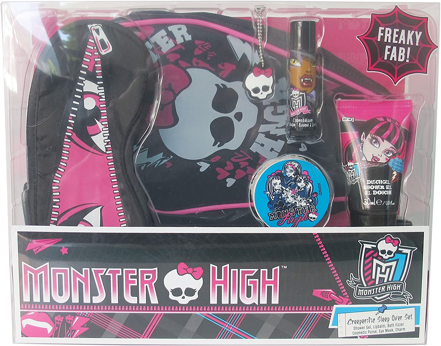 Monster High Sleep over regalo Set, 1er Pack (1 x 1 pieza): Amazon ...