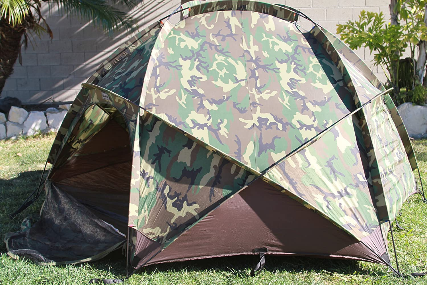 Amazon.com  Extreme Cold Weather Tent (ECWT) Four Person Four-Season USMC used excellent  Sports u0026 Outdoors & Amazon.com : Extreme Cold Weather Tent (ECWT) Four Person Four ...