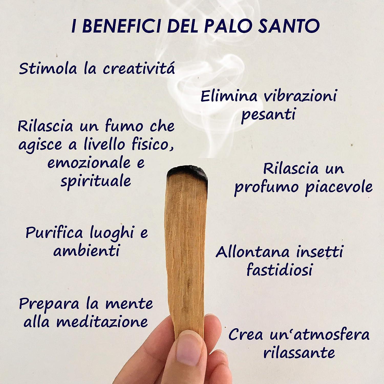 Chamanismo Incienso Natural Palo Santo Viaje Interior 100 meditaci/ón Palitos Variedad Popular espiritualidad relajaci/ón Aroma para Yoga gr