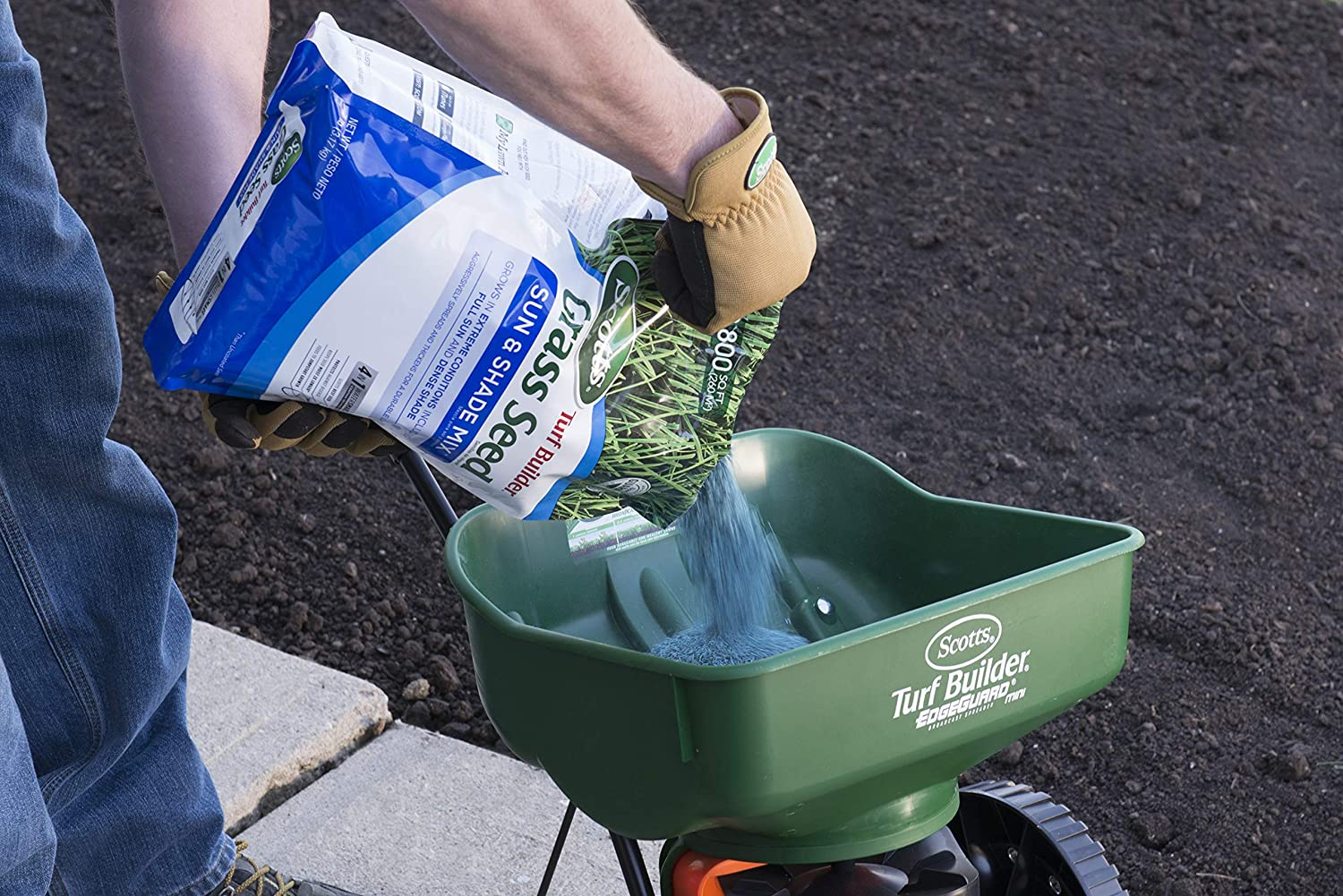 3 lbs Scotts Turf Builder Grass Seed Sun /& Shade Mix Spreads /& Thickens For A Durable Lawn Grows In Extreme Conditions Including Full Sun /& Dense Shade