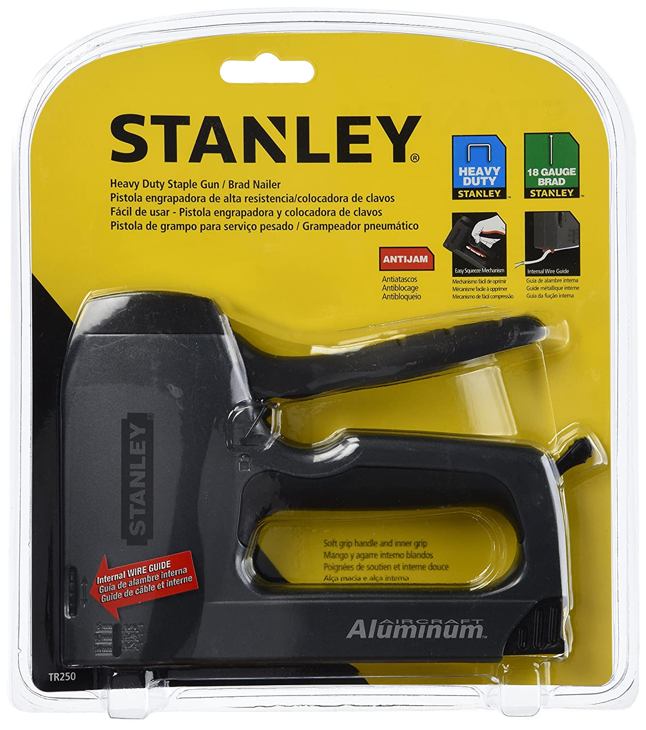 Stanley TR250 SharpShooter Plus Heavy-Duty Stapler