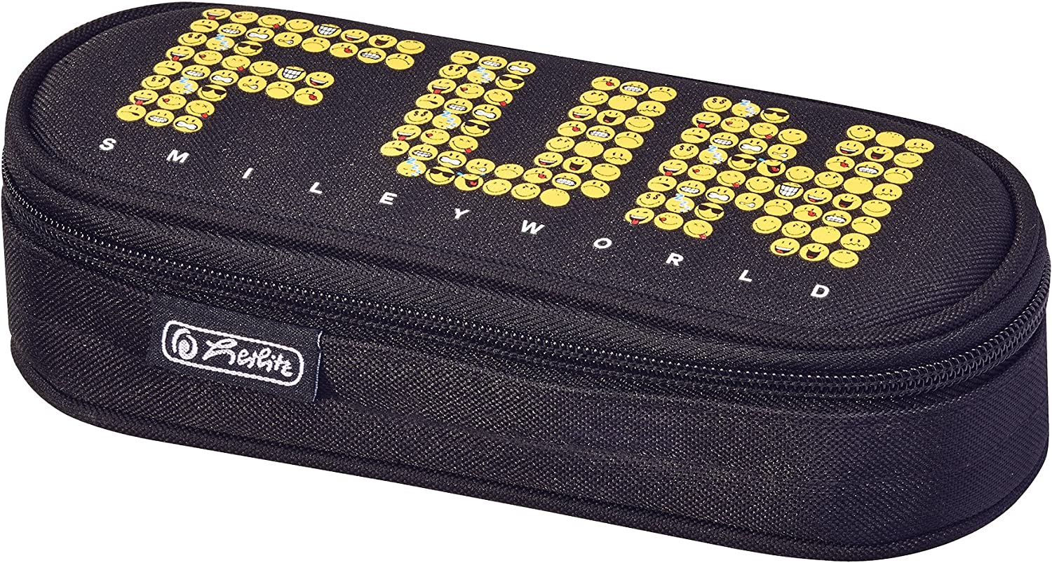 Herlitz Unisex Kids Pencil Cases Multi-Coloured
