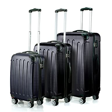 Amazon.com | Timmari Hard Lightweight ABS Luggage Set - 29