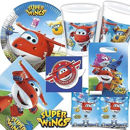 101 Juego de * Super Wings * Fiesta de cumpleaños para niños ...