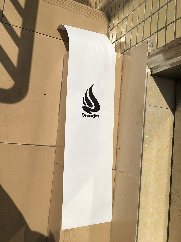 Dreamfire grip tape skateboard Clear grip tape con logo per longboard Pennyboard scooter Componenti