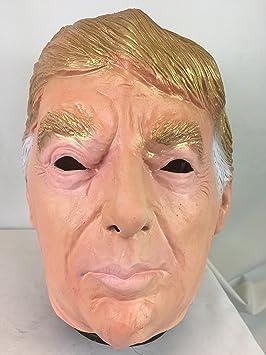 DONALD TRUMP Máscara LUJO látex en la parte de arriba EUA político Disfraz Máscaras