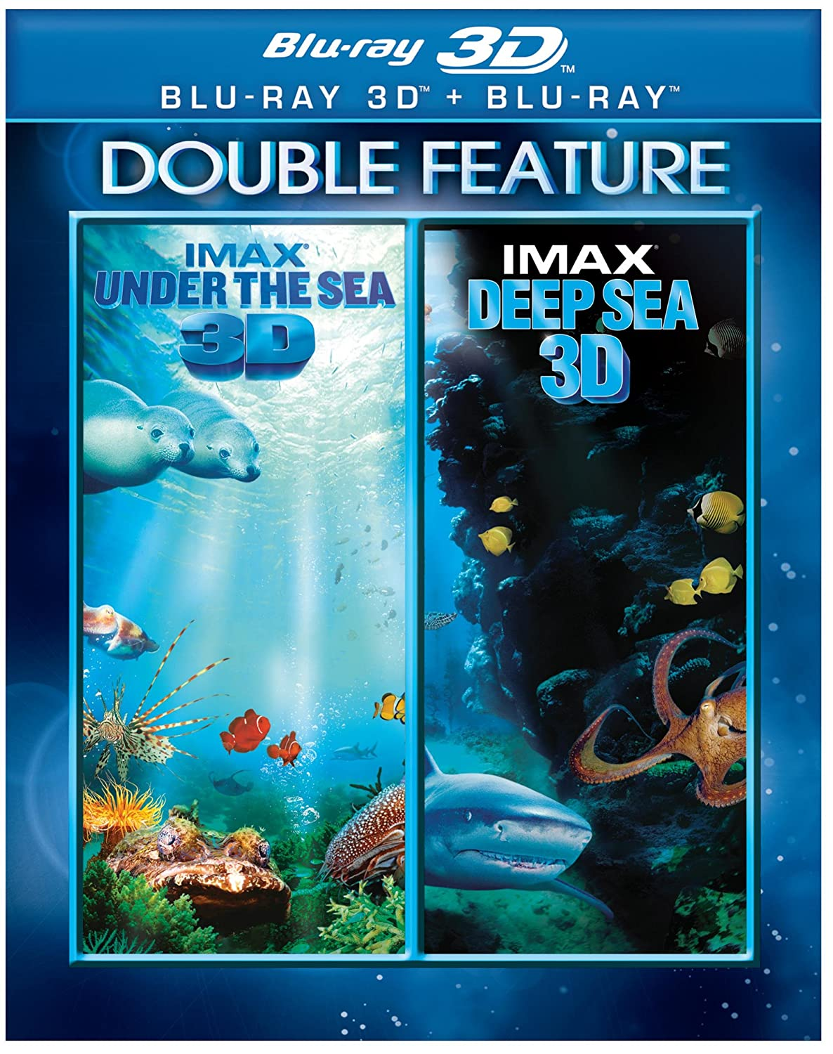 IMAX®: Under the Sea/IMAX® Deep Sea DBFE (Blu-ray 3D)