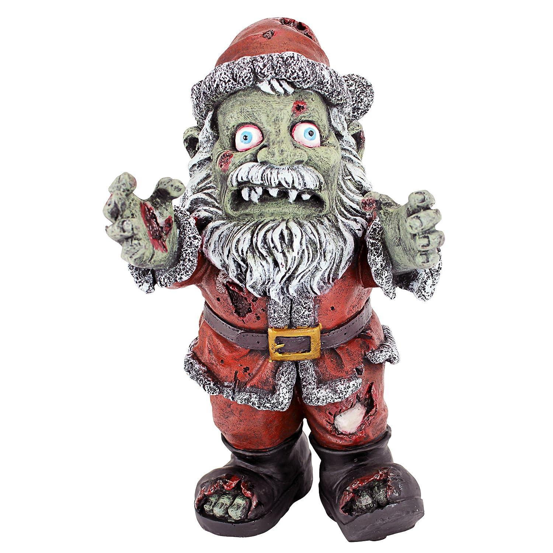 Amazoncom Christmas Decorations  Zombie Santa Claus Holiday Decor Zombie
