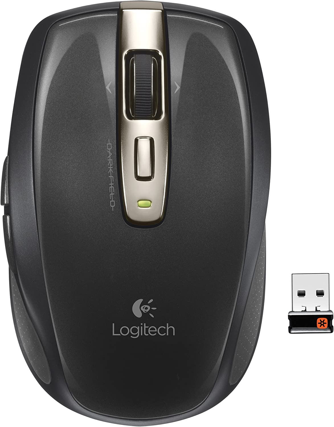 Logitech Wireless Anywhere Mouse MX for PC and Mac, black