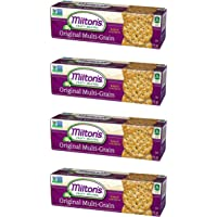Milton's Gourmet Crackers (Multi-Grain). Multi-Pack of Multi-Grain Non-GMO Baked Crackers (Pack of 4, 8.3 Ounce Box).