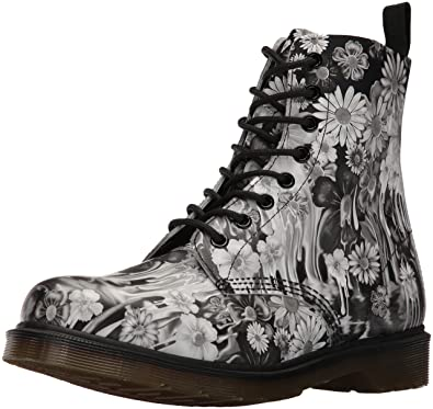 Women's Pascal Paint Slick Backhand Combat Boot