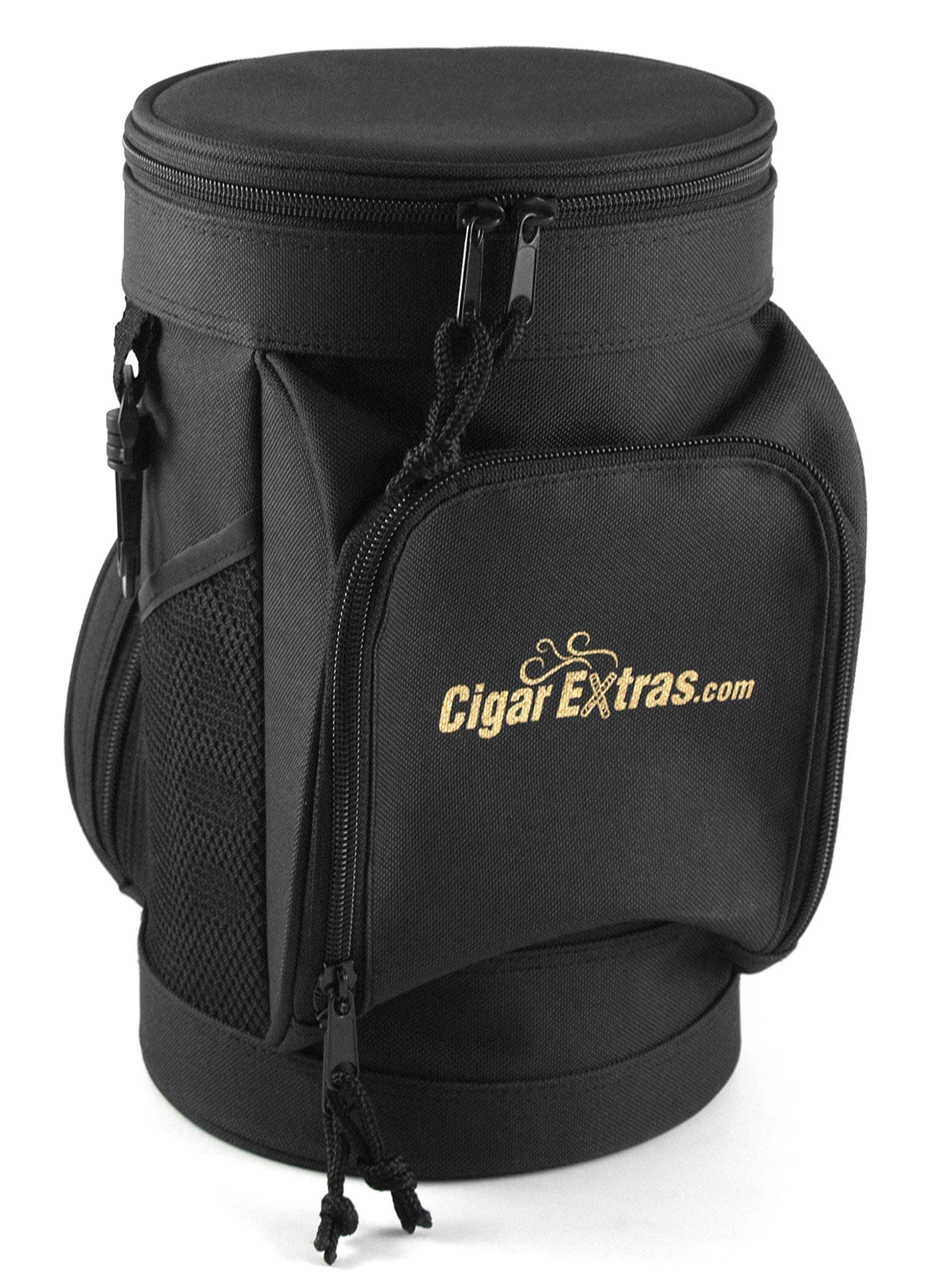CigarExtras Le Tube Travel 20 Cigar Case Shoulder Bag