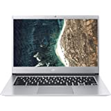 "Acer Chromebook 514 |CB514-1H - Ordenador portátil de 14"" FHD IPS LED (Intel Pentium QC N4200, 8 GB de RAM, 64 GB eMMC HDD, Intel HD 505, Chrome OS) Plata - Teclado QWERTY Español"