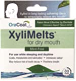 XyliMelts Discs for Dry Mouth, Mint Free, 80 ea