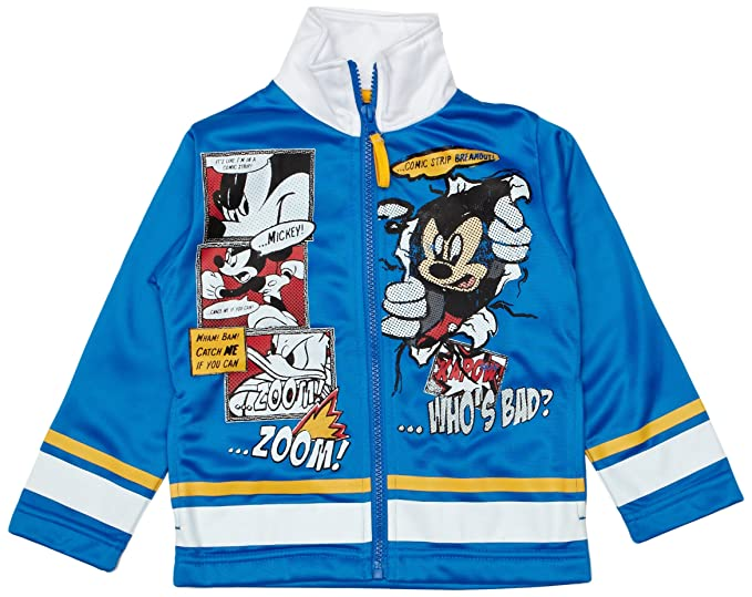 Disney - Chaqueta de deporte para niño, talla 4 Years ...