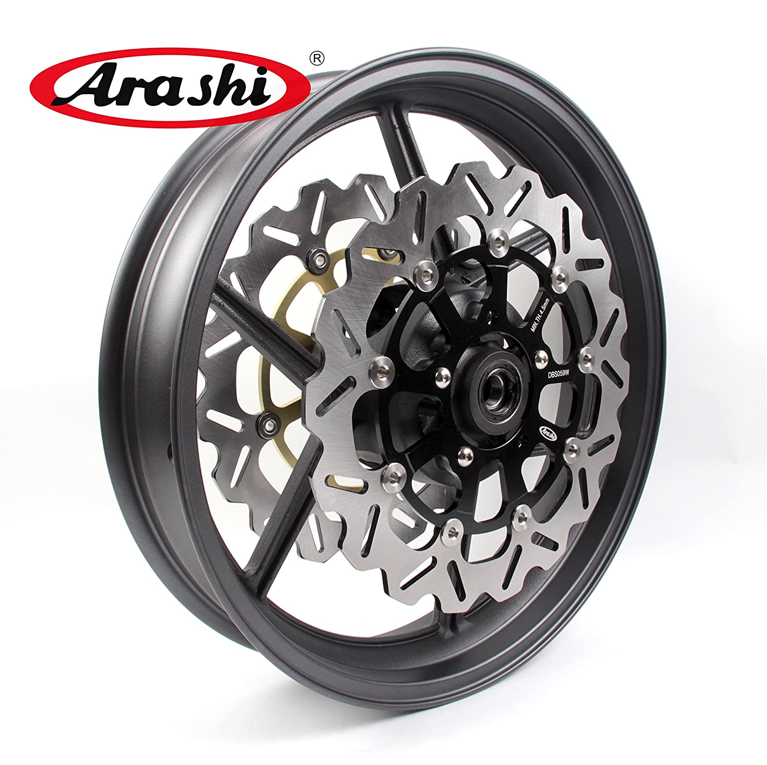 Amazon.com: Arashi Front Wheel Rim Brake Rotors for Z800 ...