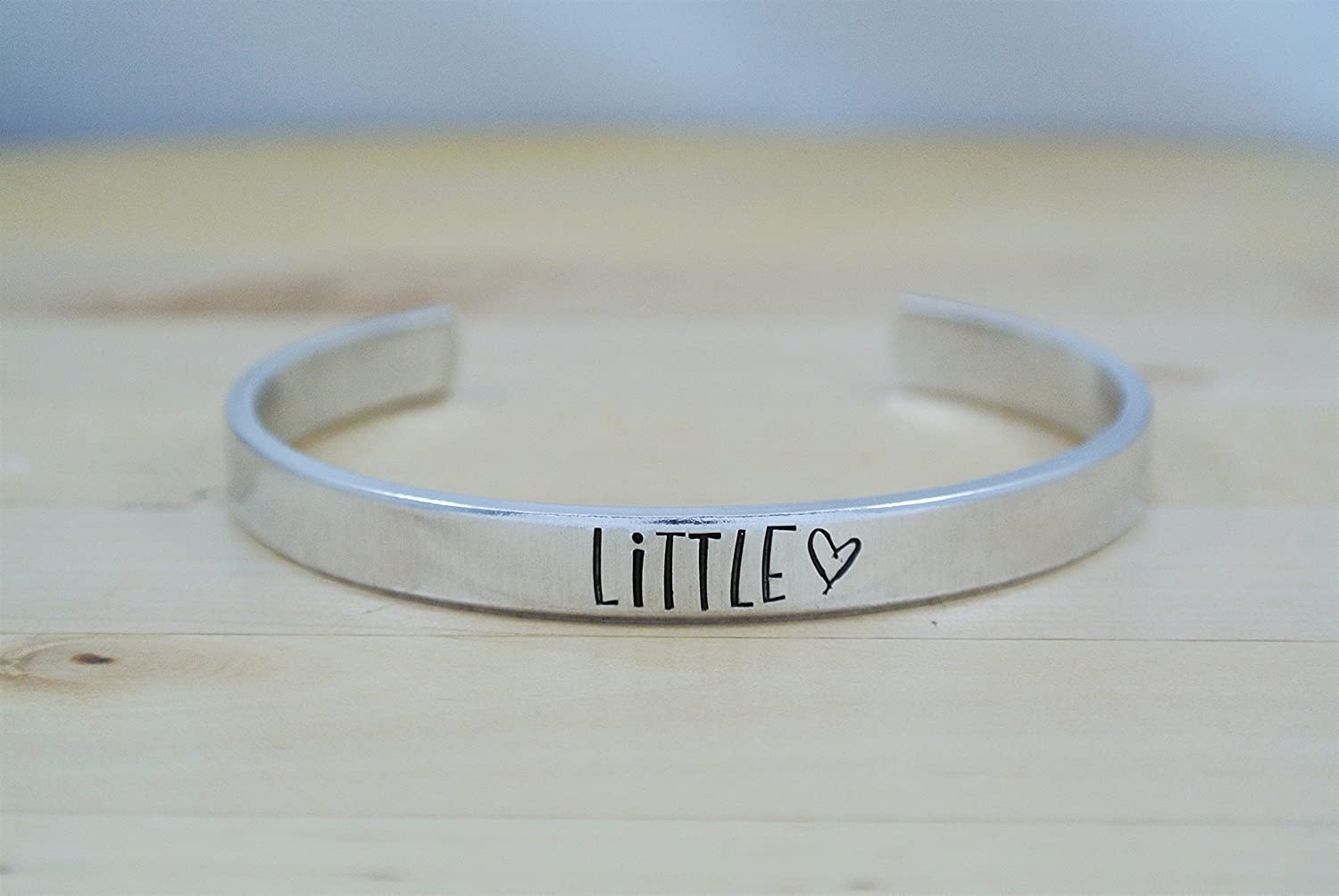 Little Sorority Hand Stamped Bracelet Hand Stamped Jewelry | Greek | Little Sister | Big Little Reveal | Little Gift