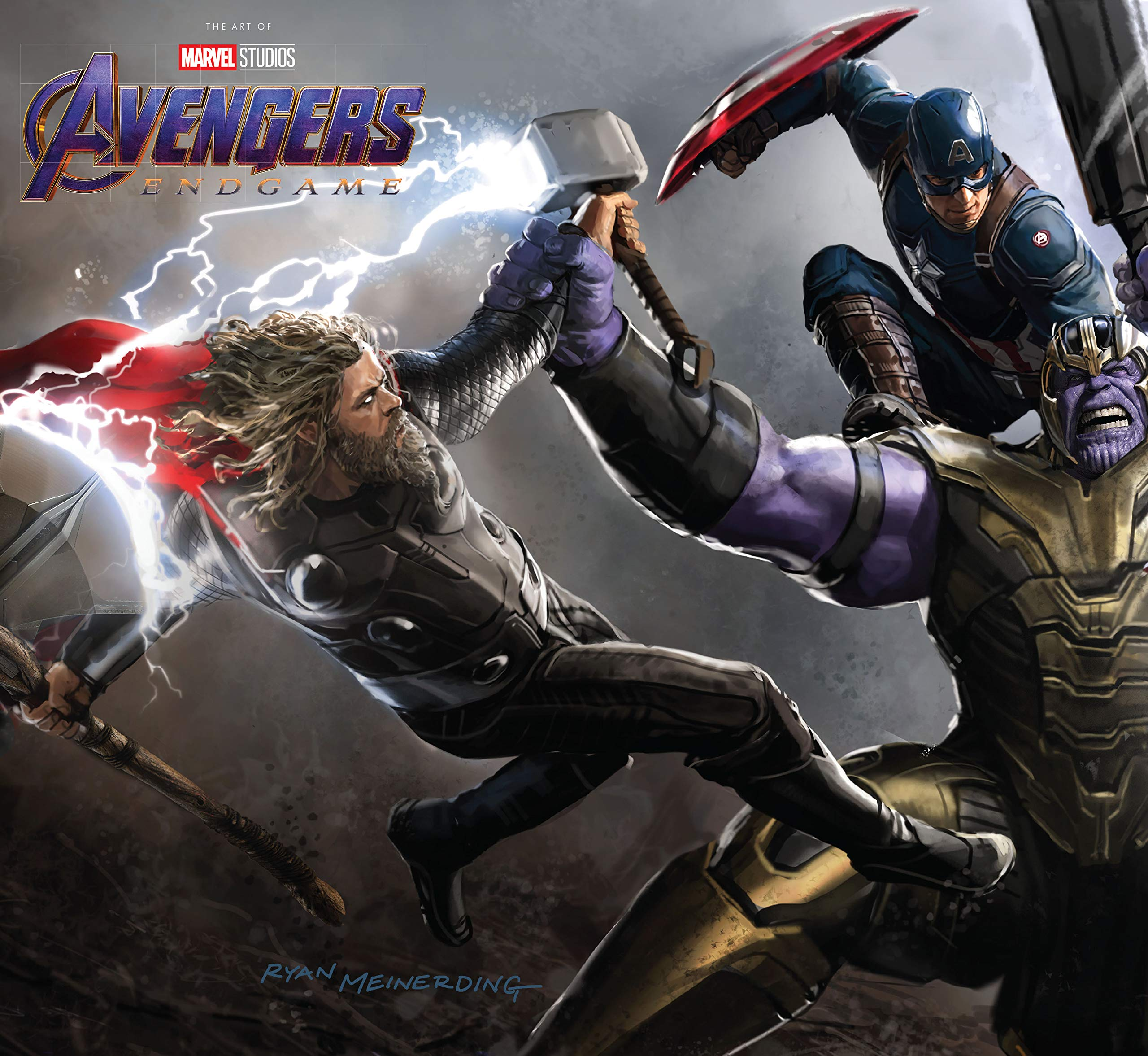 Image result for marvel endgame art of the movie