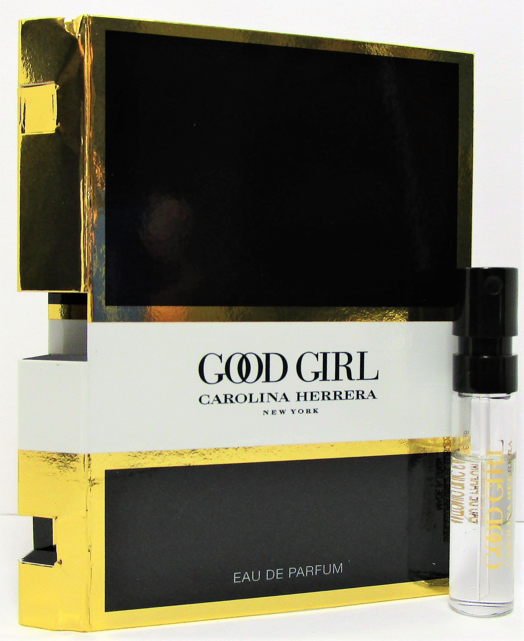 Carolina Herrera Good Girl Eau de Parfum Vial Spray for Women 0.05 oz   1.5  ml 1b03ff0cda