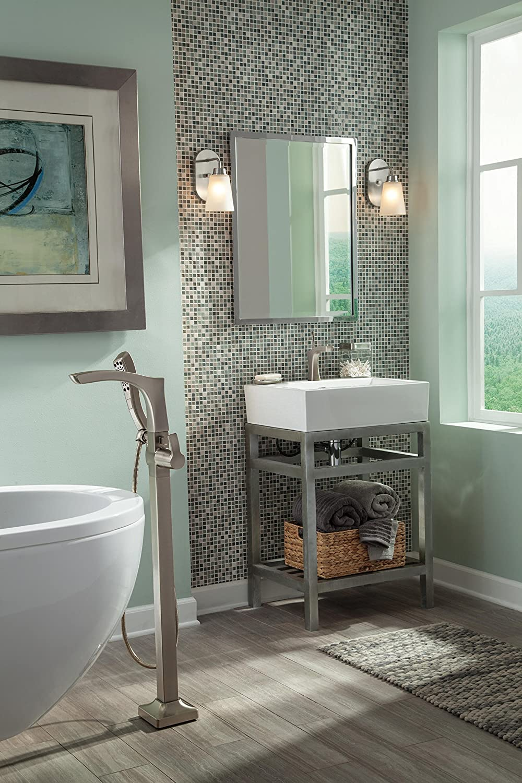 Delta Faucet T47766-CZFL Freestanding Tub Filler Trim Floor-Mount Champagne Bronze