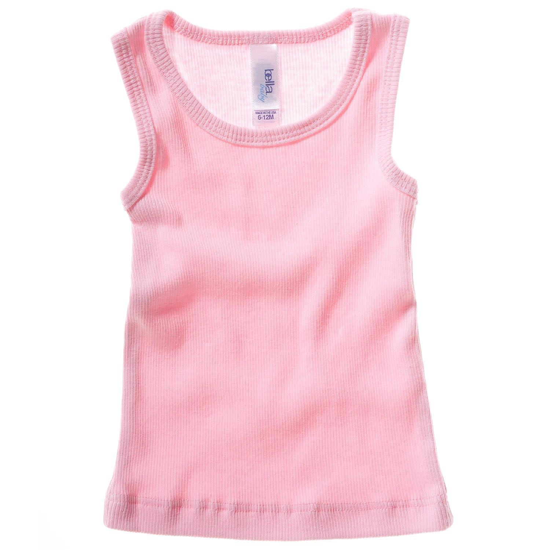 Bella Canvas Baby Unisex Rib Tank Vest Top