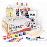 DIY Slime Set by Mr. E=mc2, 2nd Edition   BRAND NEW Slime Starter Kit for Boys Girls   All Inclusive w Easy NO FAIL Instructions and Slime Stuff Supplies   4+ Different Slime Recipes, Slime Making Kit