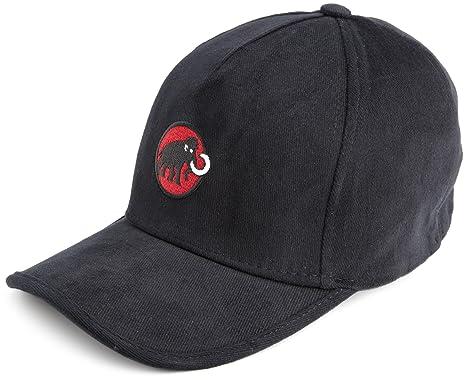 e1682b233f7 Amazon.com  Mammut Baseball Cap (Black-Fire