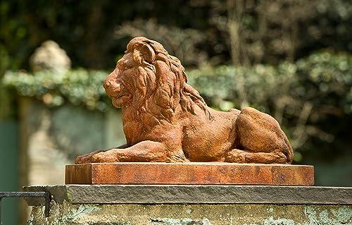 Campania International A-405-NA Classic Lion Statue