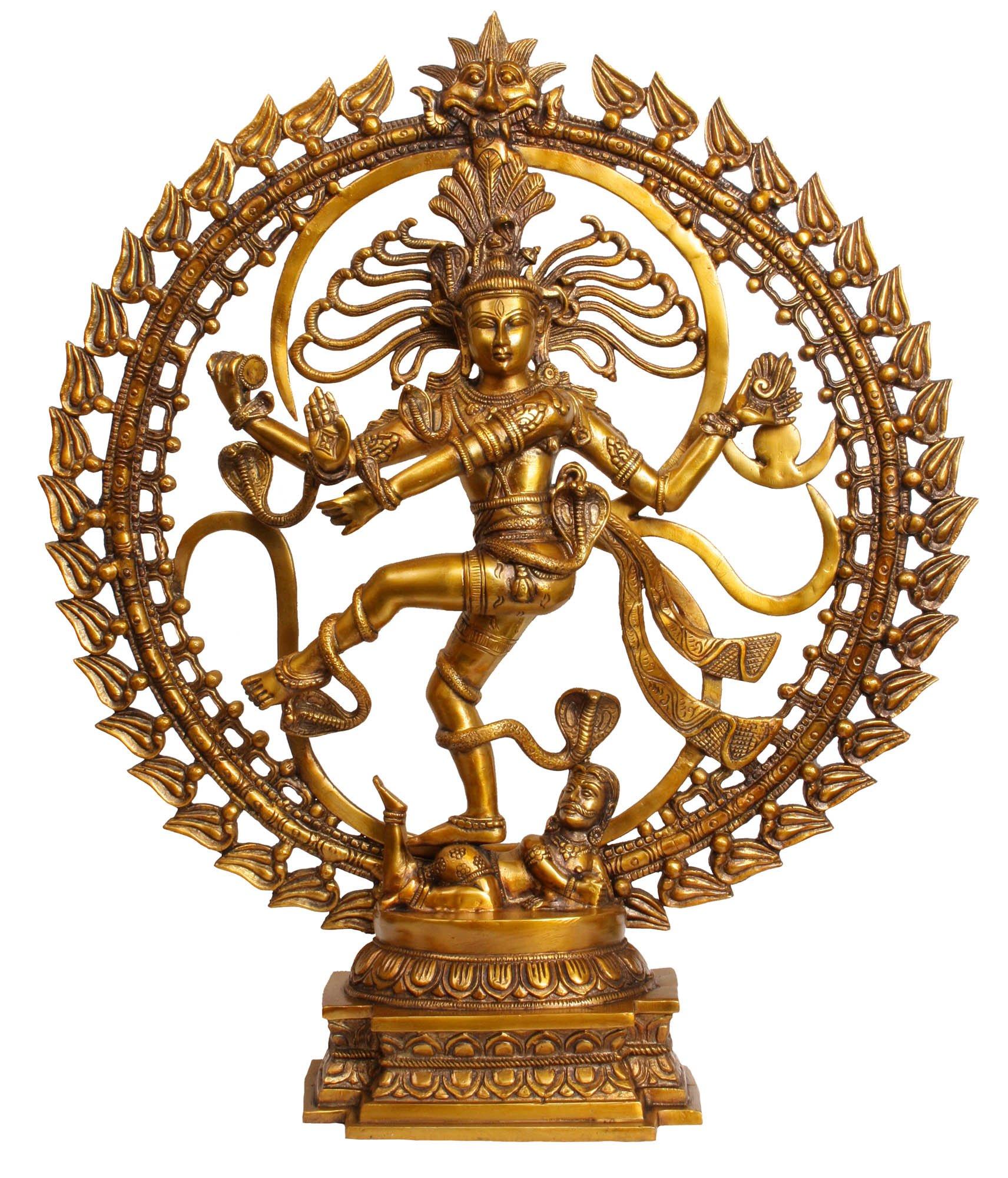 Om Nataraja - Brass Statue