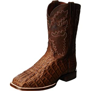 e98543096b8 Amazon.com | Dan Post Men's Everglades SQ Western Boot, Brown, 7.5 D ...
