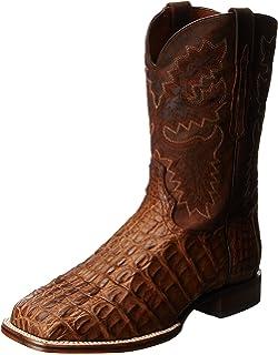 041fee167ab Amazon.com | Lucchese M4539.TW Brant Mens Cigar Caiman Crocodile ...