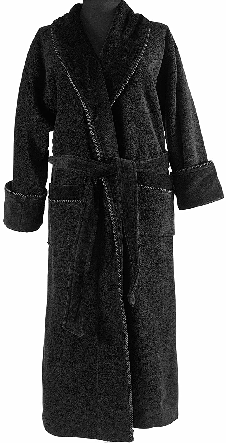 THIRSTY Towels Signature Terry Robe Made of Genuine Turkish Cotton