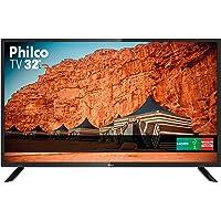 """TV 32"""" HD Backlight D-LED Philco PTV32F10D, Receptor Digital Integrado - Bivolt"""