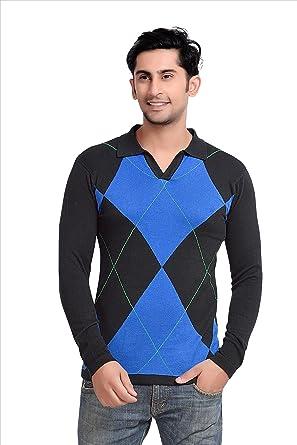 cc3070babb8 Men s Polo Stripes BLACK BLUE T-shirt Party wear (men s polo collar stripes  t-shirt for Men s Jeans ...