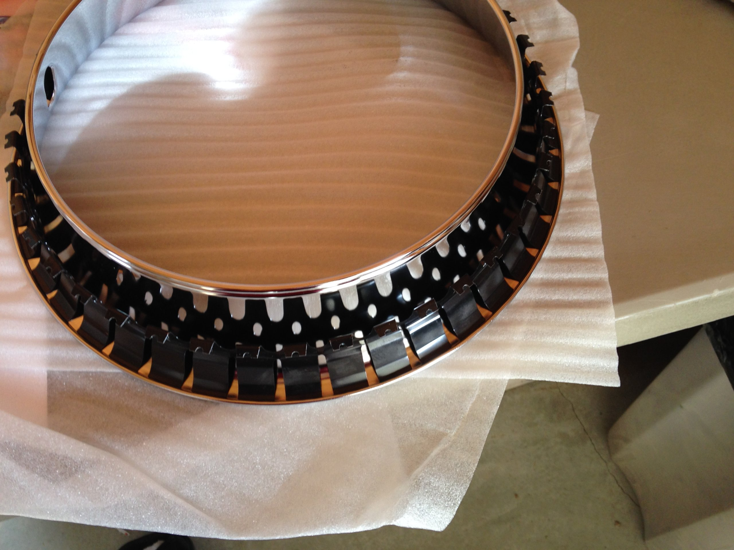 14x7 California Chrome Plated Stainless Steel Beauty Trim Rings Pontiac Ralley by JAE (Image #1)