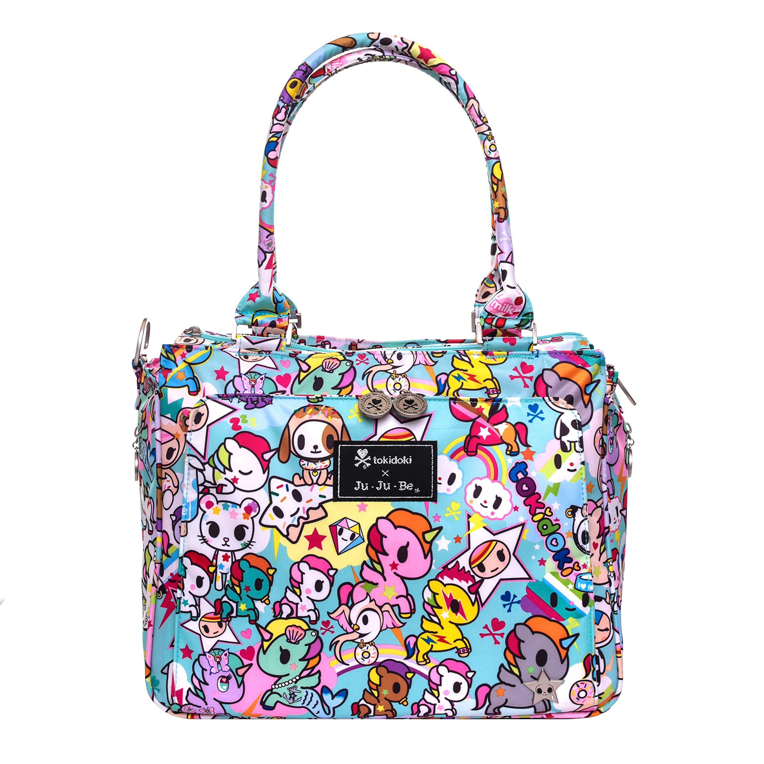 Ju-Ju-Be Be Classy Structured Handbag Diaper Bag - Tokidoki Unikiki 2.0