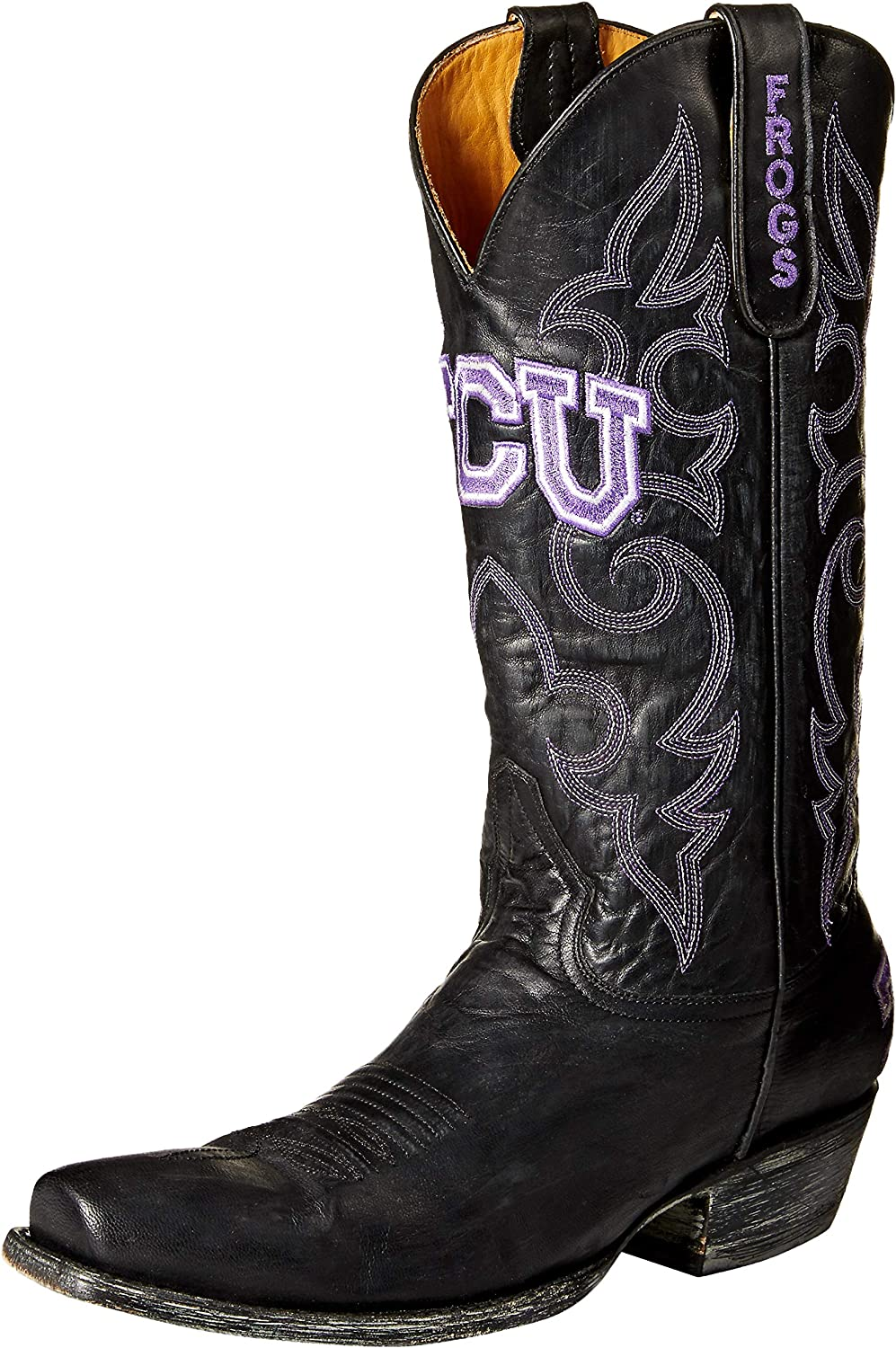 various colors release date: buy popular Amazon.com: NCAA TCU Horned Frogs Men's Board Room Style Boots ...